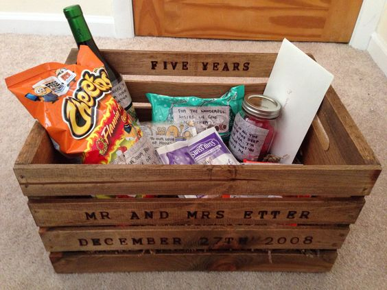 5 Wedding Anniversary Gifts: 5 Year Anniversary Gift, 5 Years And Gifts On Pinterest
