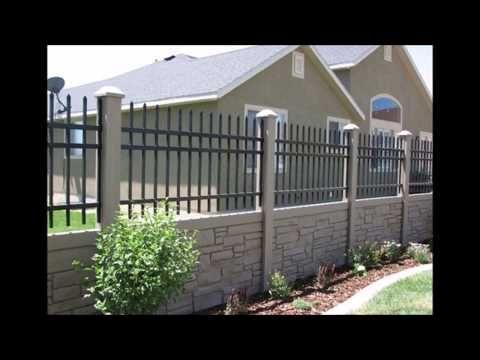 Precast Concrete Fencing Designs Photos Fence Design Concrete Fence Backyard Fences