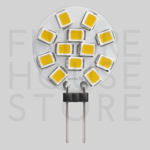 MAX-LED BULB G4 2W SMD 12V WARM WHITE