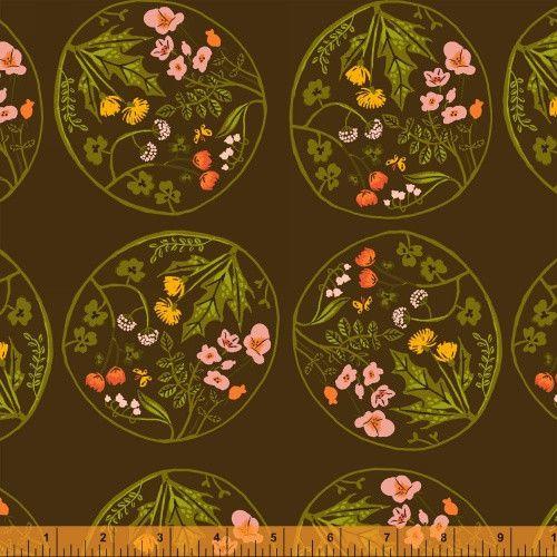 Heather Ross :::  Tiger Lily ::: Blumenornament 4 von treuepfand DIY auf DaWanda.com