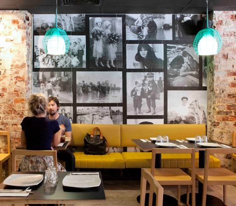 Restaurant something interesting and collage on pinterest for Funky cafe furniture