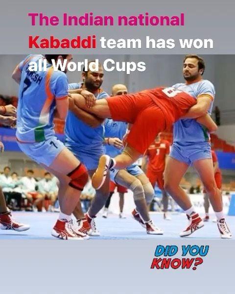 India Has Won All 5 Men S Kabaddi World Cups Kabaddi World Cup Learning For Life World Cup