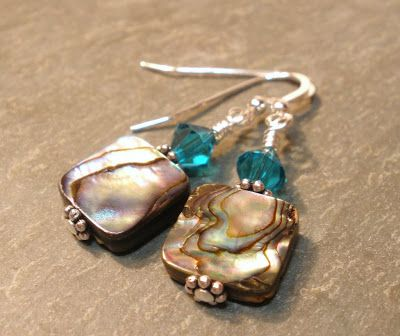 Prim Rose Hill Studio: FRIDAY FLICKR INSPIRATION: SEA SHELL JEWELRY