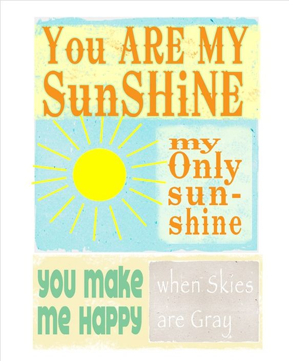my sunshine song for my babies...:)