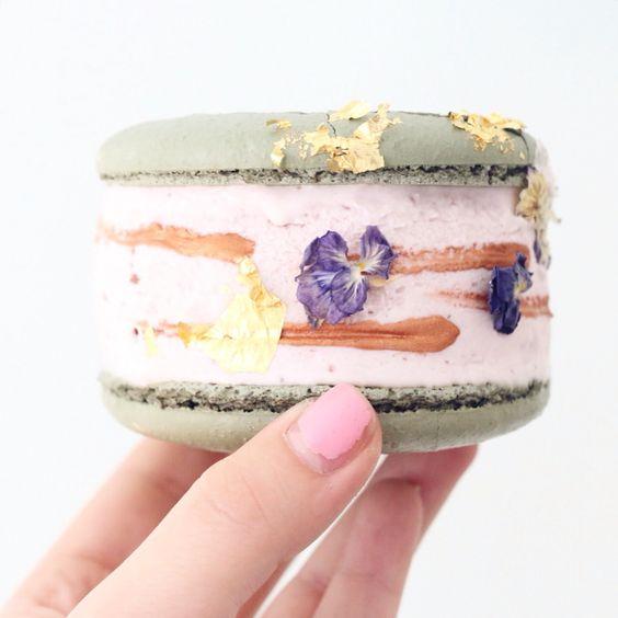 Macaron Ice Cream Sandwich