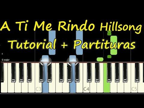 I Surrender A Ti Me Rindo Piano Tutorial Cover Facil Partitura Pdf S Piano Tutorial Sheet Music Piano