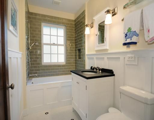 Bathroom Wainscoting Small Spaces Pinterest Green Tiles On The Side And The O 39 Jays