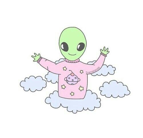 Imagen Descubierto Por Wj Stewart Descubre Y Guarda Tus Propias Imagenes Y Videos En We Heart It Cute Alien Tumblr Aliens Tumblr Png