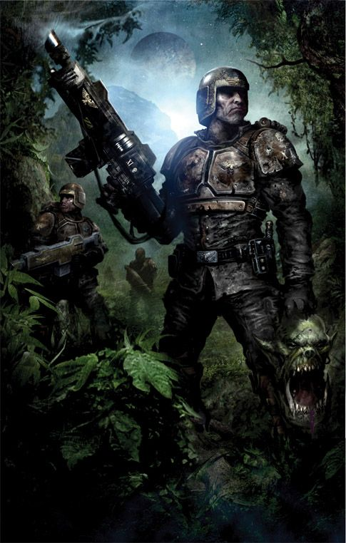 Imperial Guard, Real Men image - Warhammer 40K Fan Group - Mod DB
