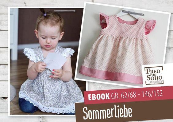 Nähanleitungen Kind - eBook Sommerliebe, Gr. 62/68 - 146/152 - ein Designerstück von FredvonSOHO bei DaWanda