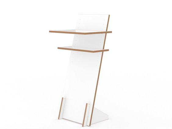 Lackiertes PC-Schrank PULT by Tojo Möbel | Design Alexander Schenk