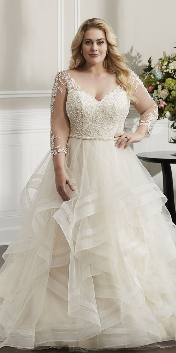 Wedding Dresses Edinburgh In 2020 Plus Size Wedding Dresses With Sleeves Plus Wedding Dresses Long Wedding Dresses