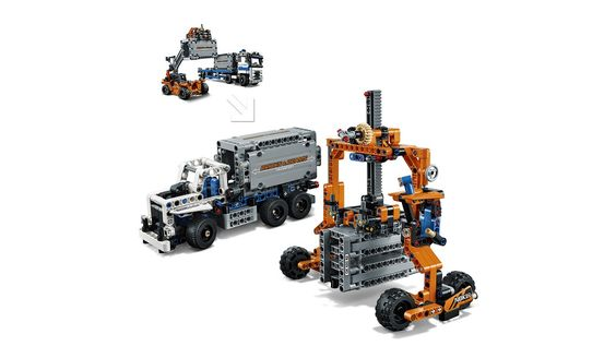 Container-Transport 42062 LEGO Technic