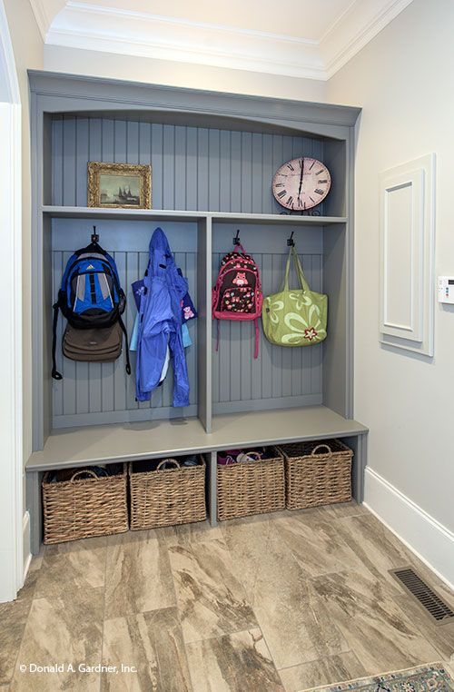 A mud room is the perfect drop spot
