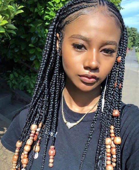 24 Unique Cornrow Hairstyles For African American Women Cornrow Hairstyles American Hairstyles Hair Styles
