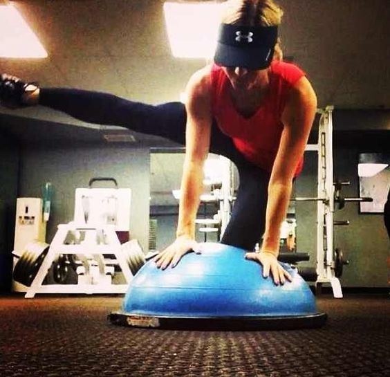 Stability Ball Side Lift: Leg Lifts, Core Stability And Stability On Pinterest