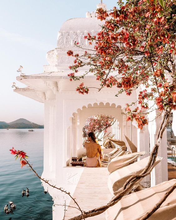 Udaipur, India via @finduslost #tajlakepalace #udaipur #india #visitindia