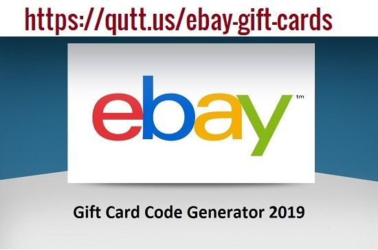 Our Ebay Gift Card Generator Is An Online Application That Enables