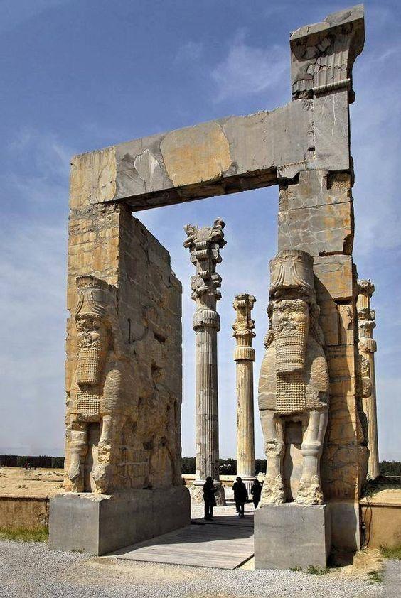 "ancientorigins: "" Gate of All Nations, Persepolis, Iran """