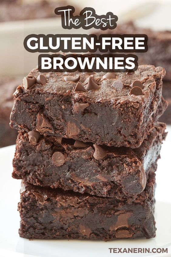 The Best Gluten-free Brownies – Super Fudgy and Dairy-free - Texanerin Baking