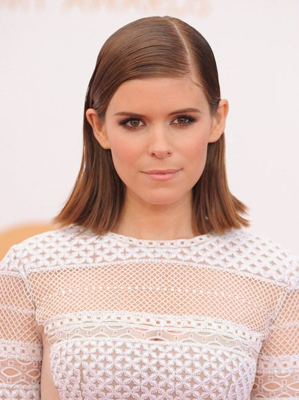 Kate Mara arriving at the 65th Primetime Emmy Awards at the Nokia Theatre in Los Angeles, California - Sept 22, 2013 - P