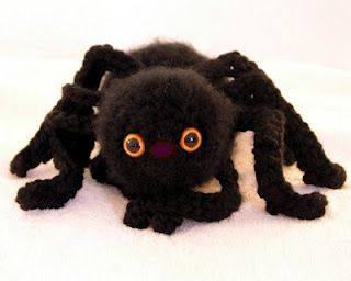FREE pattern: My Big Fuzzy Spider Pattern