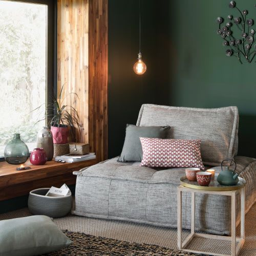 Elementary Charcoal Grey Armless Sofa Maison Du Monde Google Search Trending Decor Decor Home Decor
