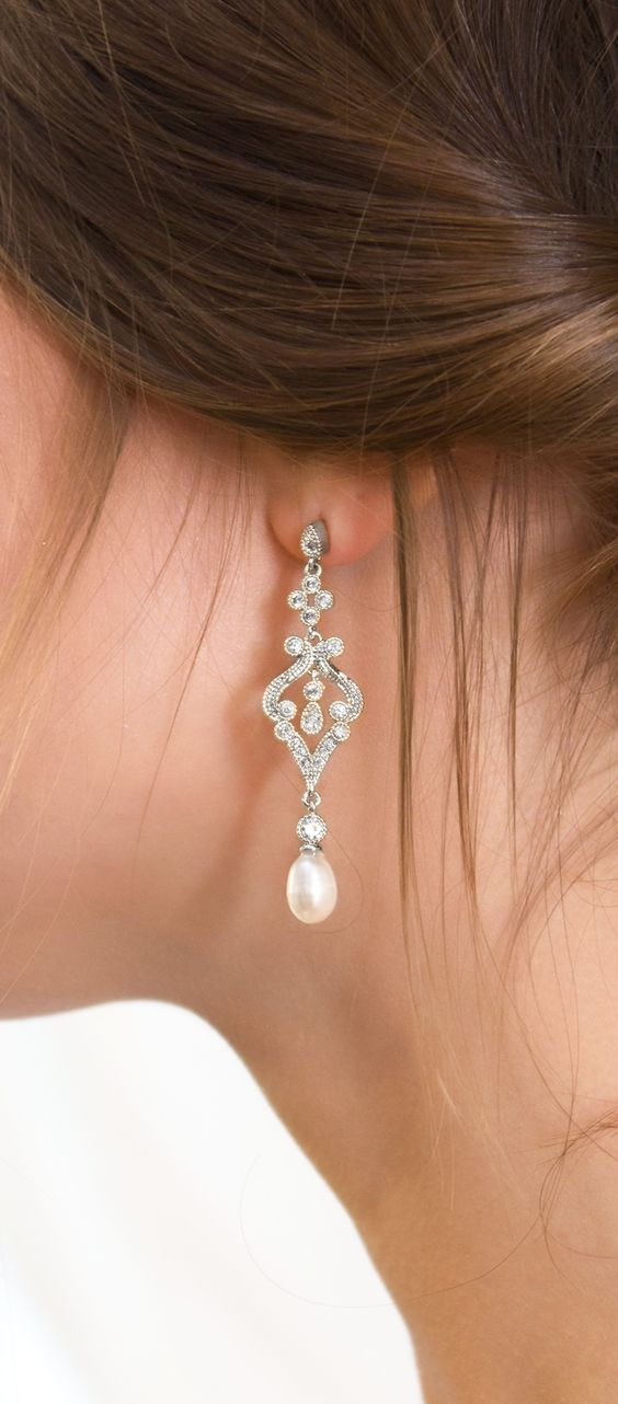 Marquise Earrings - A BHLDN exclusive From White Label by Amy O