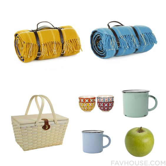 Homeware Advice Including Tweedmill Blanket Blue Wool Blanket Picnic At Ascot Food Storage Container And Handpainted Plate From March 2016 #home #decor