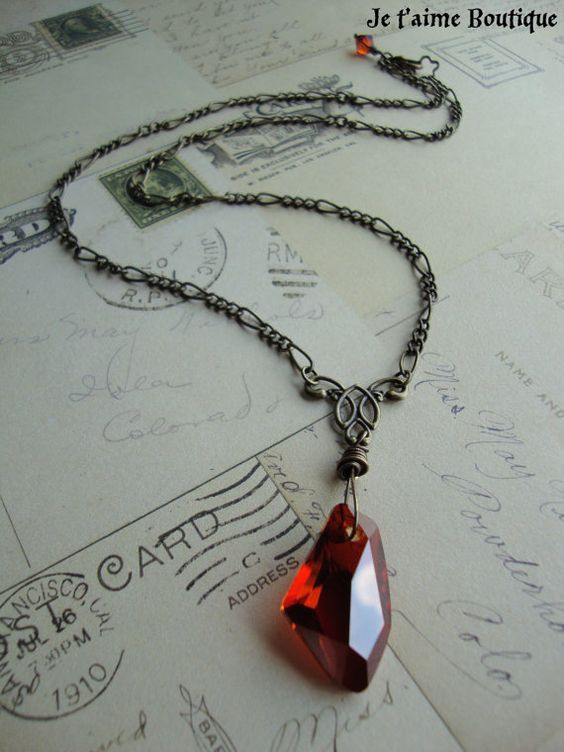 sorcerer's stone necklace