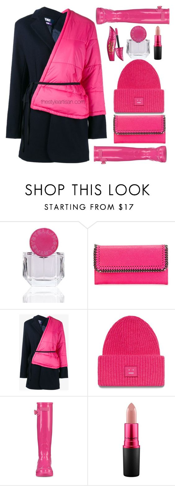 """I wear pink for"" by thestyleartisan ❤ liked on Polyvore featuring STELLA McCARTNEY, Jacquemus, MAC Cosmetics and IWearPinkFor"