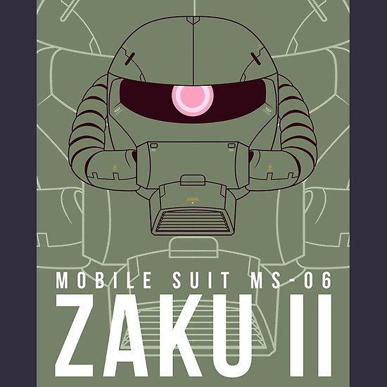 Ms 06 Zaku Ii Ver 2 Gundam Wallpapers Gundam Art Gundam Head