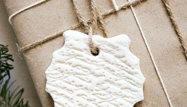 Christmas Salt Dough Gift Ornaments