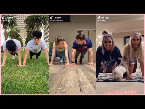 Plank Challenge Tik Tok Compilation Youtube Plank Challenge Challenges Plank Challenge 30