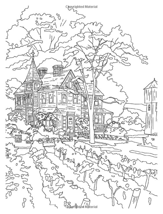 Book Thomas Kinkade Sketch Templates as well 298082069067852954 additionally Book Making Behind Scenes Colouring Book Artist likewise  moreover Landscape3pf. on thomas kinkade cottages