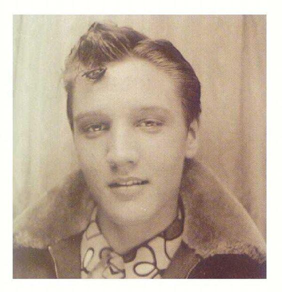 Elvis Presley at  age 13
