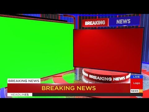 Download Free News Stock Video Footage And Motion Graphics With 4k And Hd Click Here And Download Greenscreen Green Screen Video Backgrounds Free Green Screen