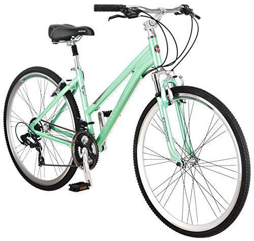 Schwinn Womens Siro Hybrid Bicycle 700c Wheel Small Frame Size Light Green For Sale Hybrid Bicycle Hybrid Bike Schwinn