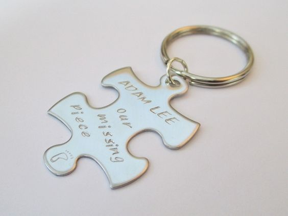 Quot Our Missing Piece Quot Personalised Highly Polished