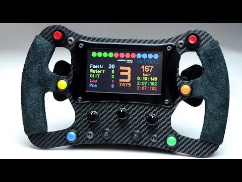 Mechanics Of A F1 Steering Wheel Rim In Mounting Kit Adapter For Logitech G25 G27 G29 G920 Thrustmaster T500 T300 Tx T In 2020 Racing Rims Racing Simulator Racing
