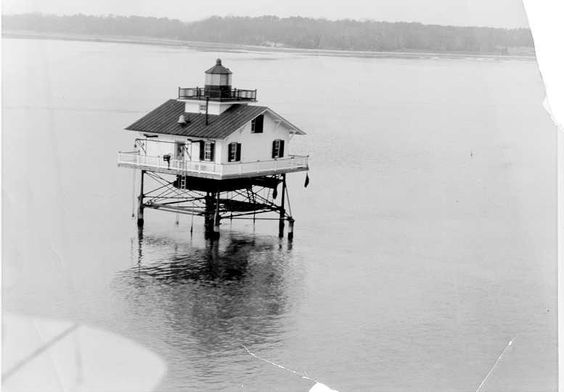 Upper Cedar Point Lighthouse (dismantled 1963)