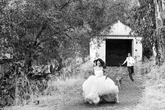 "Una ""Boda Rosa Clará"" con reportaje post boda"