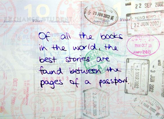 Let's get a lot of stamps! #exchange #student #travel #year #usa #abroad #true #fun #friends #best #quotes: