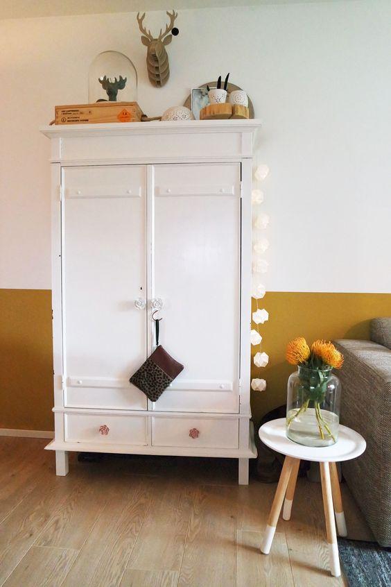 Okergoud in huis bij stijl habitat okergoud ochregold colour of 2016 kleur van 2016 flexa - Kleur trendy restaurant ...