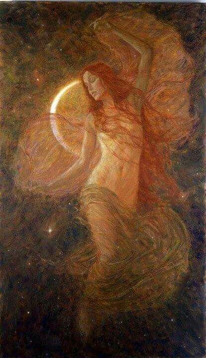 """""""Nací de un útero. Nací de una mujer. Nací guerrera y libre. Fui cocida con fuego de amor en el seno de la Madre y me formaron las manos artistas del Creador. Puso en mi cuerpo pechos y caderas amplias, piel suave y pies ligeros. Nací mujer valiente y pura. Vive en mí la luna y las estrellas moran en mi vientre. Soy amor y ternura, consuelo y refugio. Soy mujer viento, mujer agua, mujer tierra, mujer fuego, mujer medicina, mujer sol. Soy mujer guerrera, mujer niña, mujer joven, mujer madura,..."""