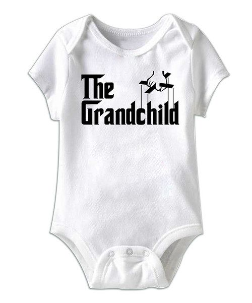 With all of the love and affection that devoted grandparents shower bitty babes with, they certainly deserve a bit of praise. This comfy, cozy wonder has a bold declaration of adoration as well as simple conveniences, like a lap neck and snaps on bottom.100% cottonMachine wash; tumble dryImported