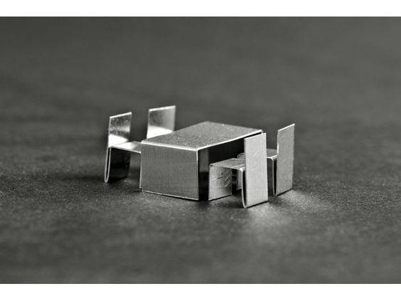 Juego de muebles para maquetas de aluminio 1 for Muebles de aluminio