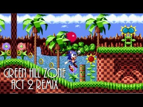 Green Hill Zone Act 2 Remix Sonic The Hedgehog Youtube Sonic The Hedgehog Remix Sonic