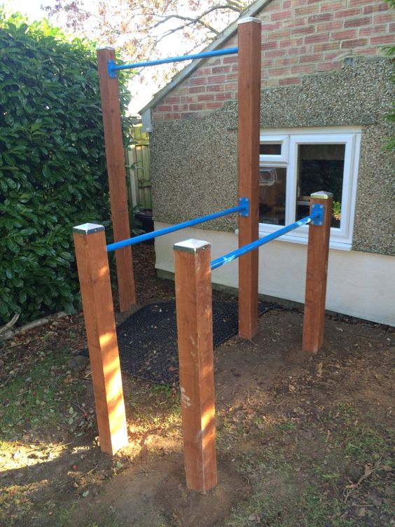 outdoor gym how to build and gym on pinterest
