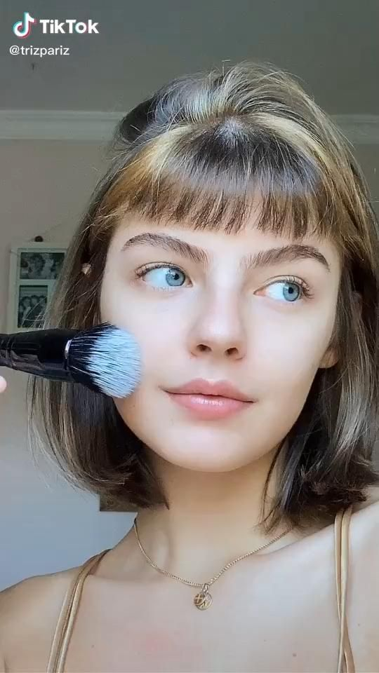 Easy And Natural Makeup Look Beauty Tiktok Natural Makeup Looks Natural Makeup Makeup Looks Tutorial